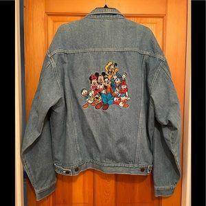 Vintage Disney Store Denim Jacket